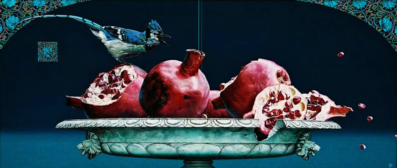 Slava Fokk Still life with Pomegranate