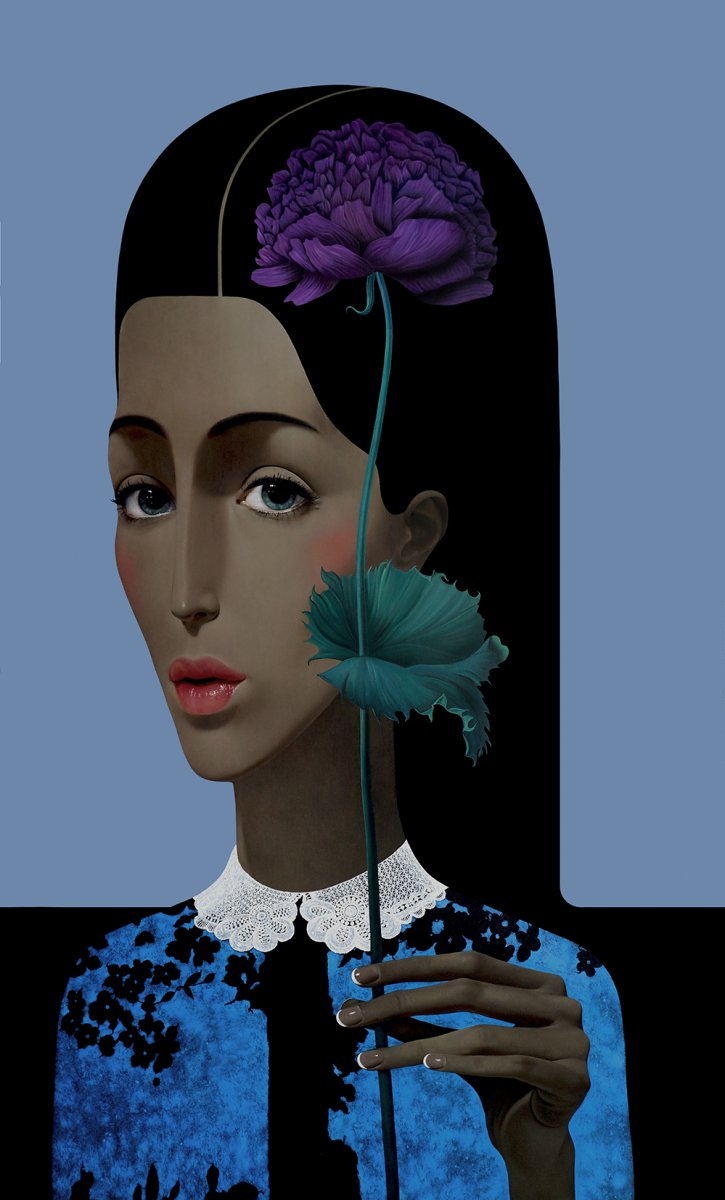 Slava Fokk Girl with a Flower