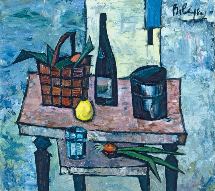 Rostislav Vovkyshevsky (1917-2000). Still Life with lemon.