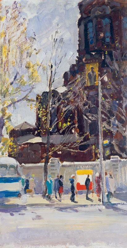 Piotr Litvinsky (1927-2009). Spring in the city.
