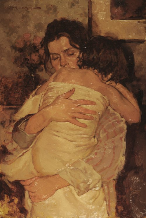 In Mommies Arms - Joseph Lorusso