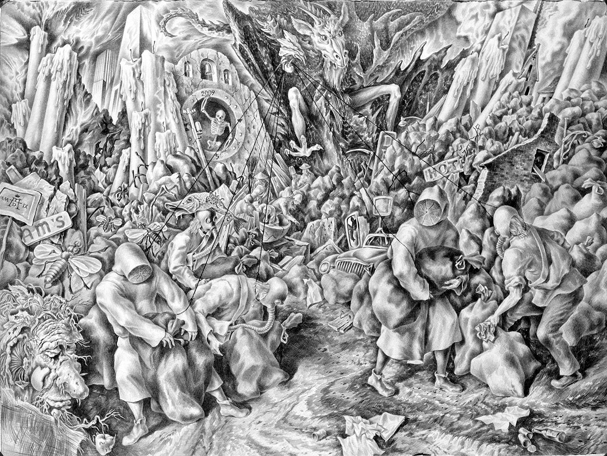 Garbage Land of Controllable Zombies - Alexander Donskoi