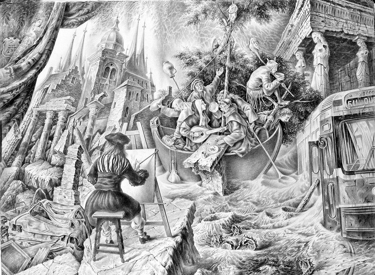 The Ship of Fools - Alexander Donskoi