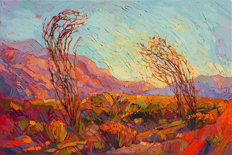 Color of Ocotillo - Erin Hanson