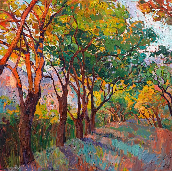 Lane of Oaks - Erin Hanson