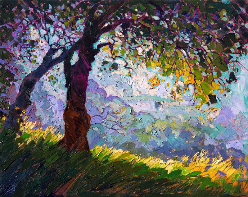 Lighted Oak - Erin Hanson