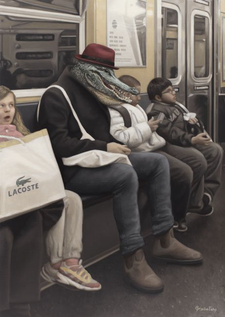 I spy the Alligator Man - Matthew Grabelsky
