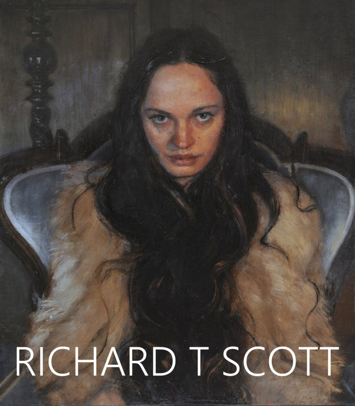 RICHARD T SCOTT - Post Contemporary Figurative Painting