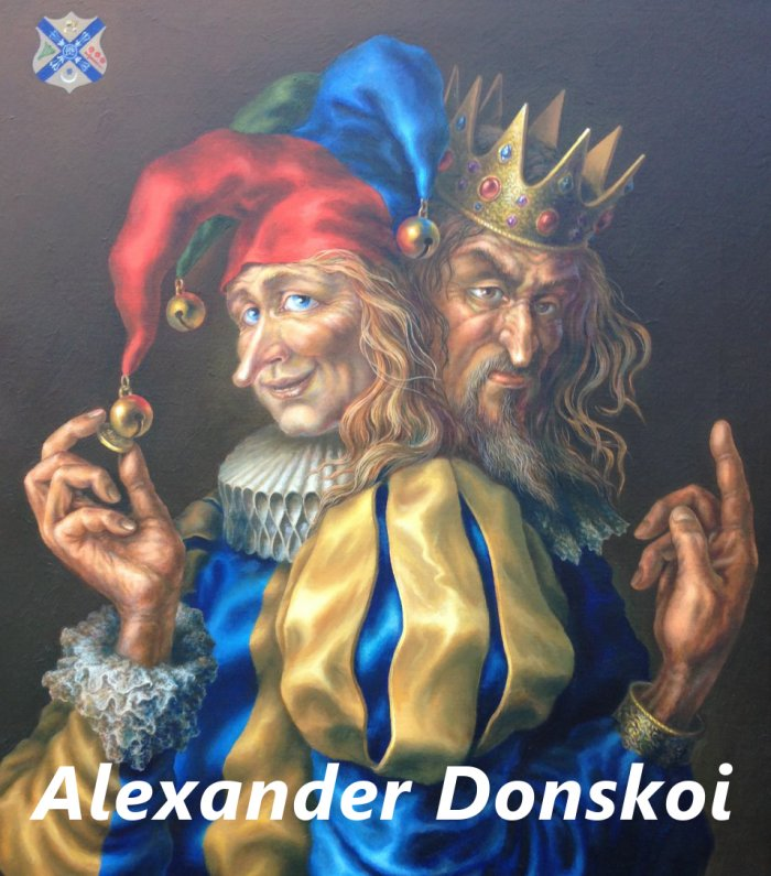Neo-Renaissance Art by Master of Fine Art Alexander Donskoi - Rebirth of Renaissance