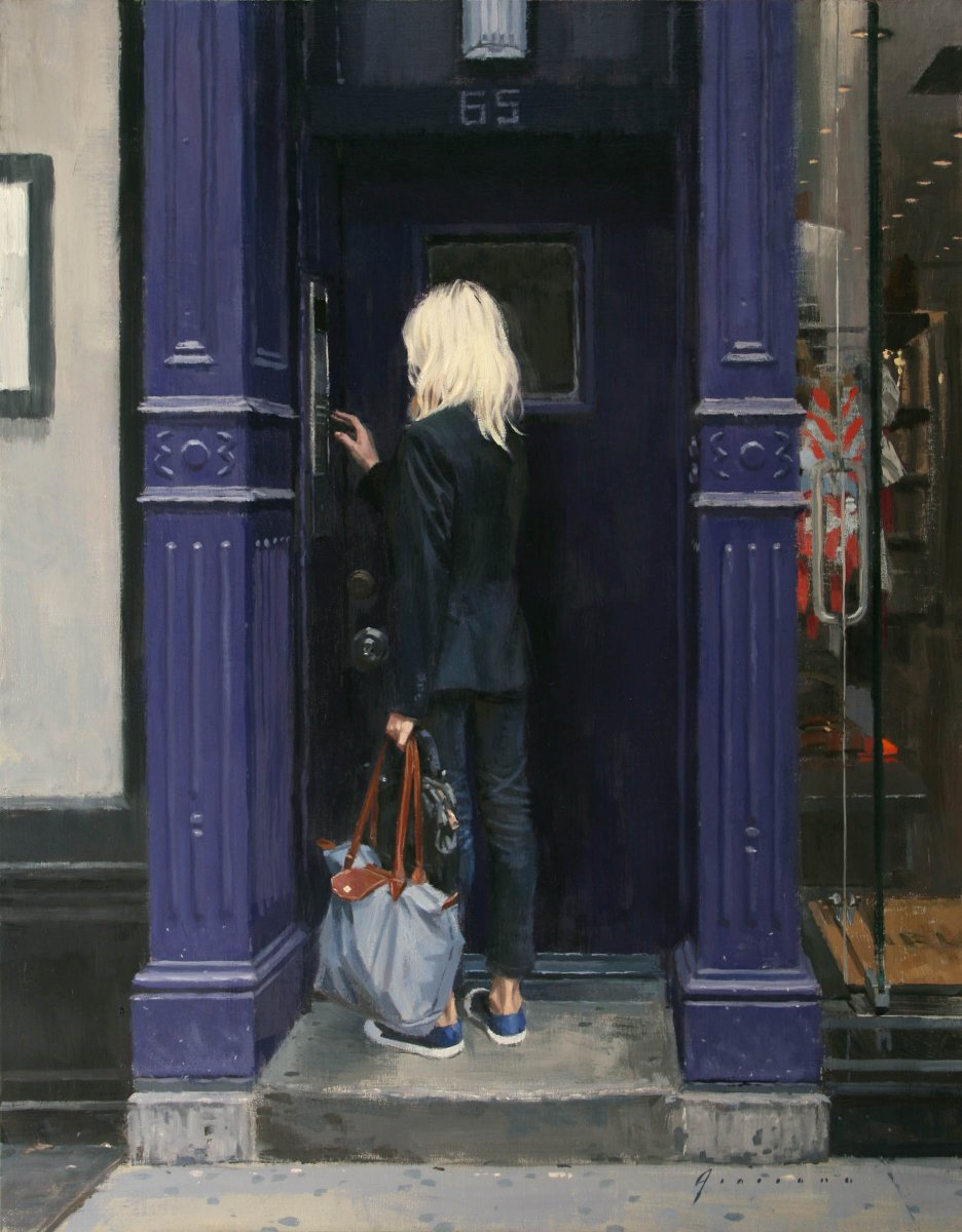 Purple Doorway - Vincent Giarrano