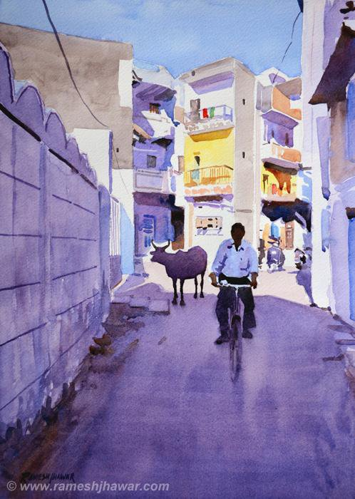 Narrow Lane - Ramesh Jhawar