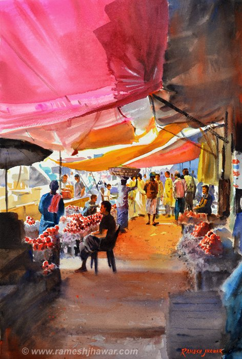 Glowing Awnings - Ramesh Jhawar