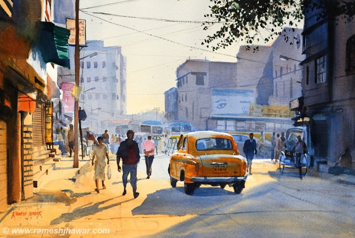 Early Warm Light, Kolkata - Ramesh Jhawar