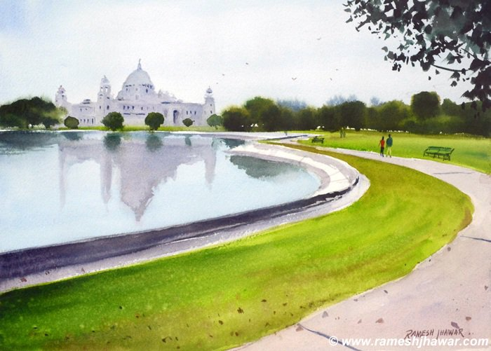 At the Victoria Memorial, Kolkata - Ramesh Jhawar
