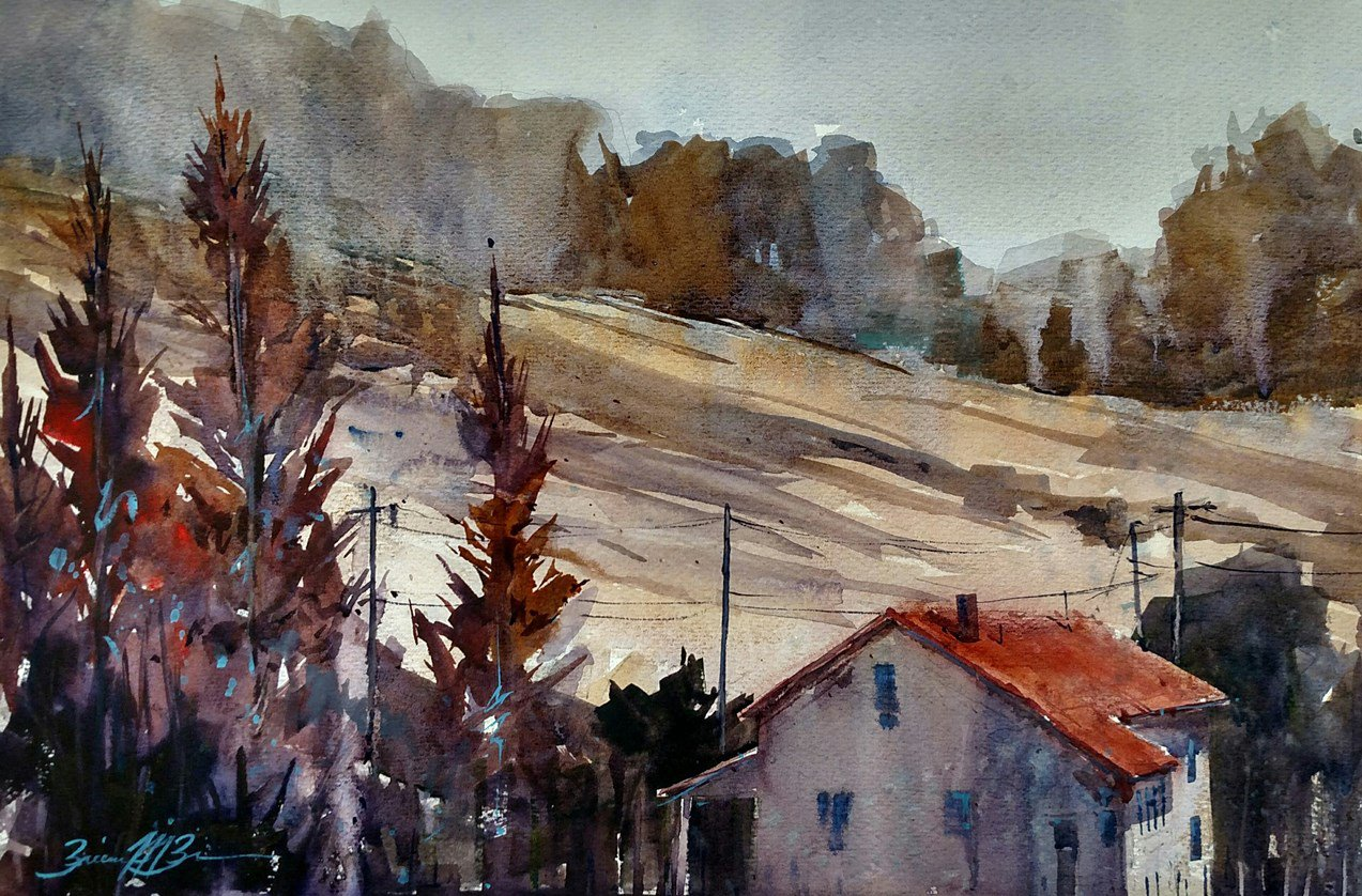 Autumn Cypress - Brienne M Brown