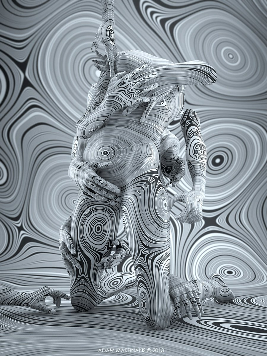Follow the lines - Adam Martinakis