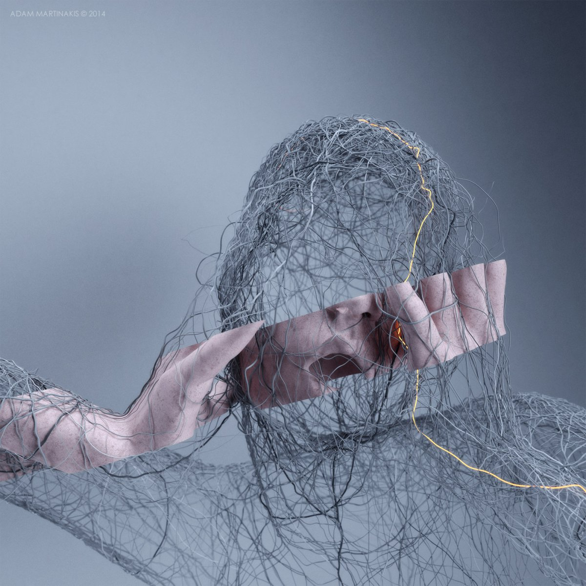 OutLined_InnerSelf - Adam Martinakis