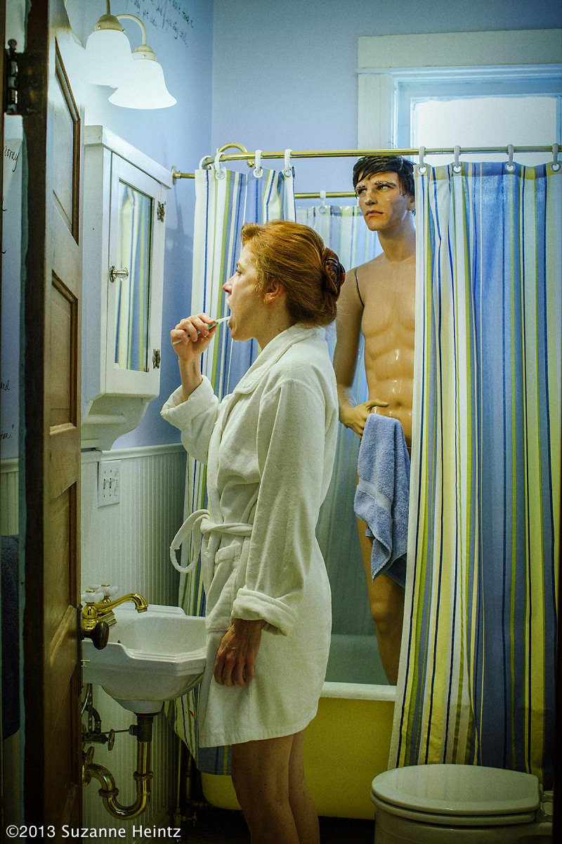 THE SHOWER - Suzanne Heintz