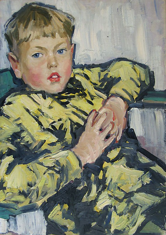 Portrait of Son - Lev Russov