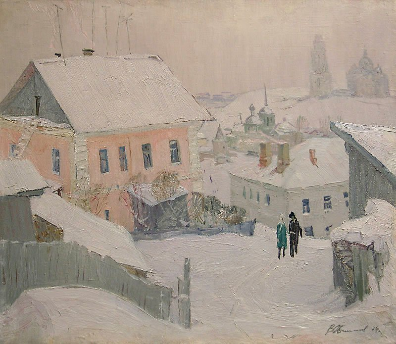 In Ancient Town of Staritsa - Vladimir Ovchinnikov