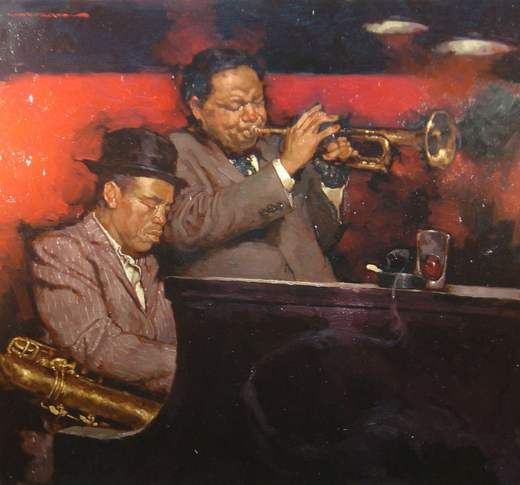 Horns and Keys - Joseph Lorusso