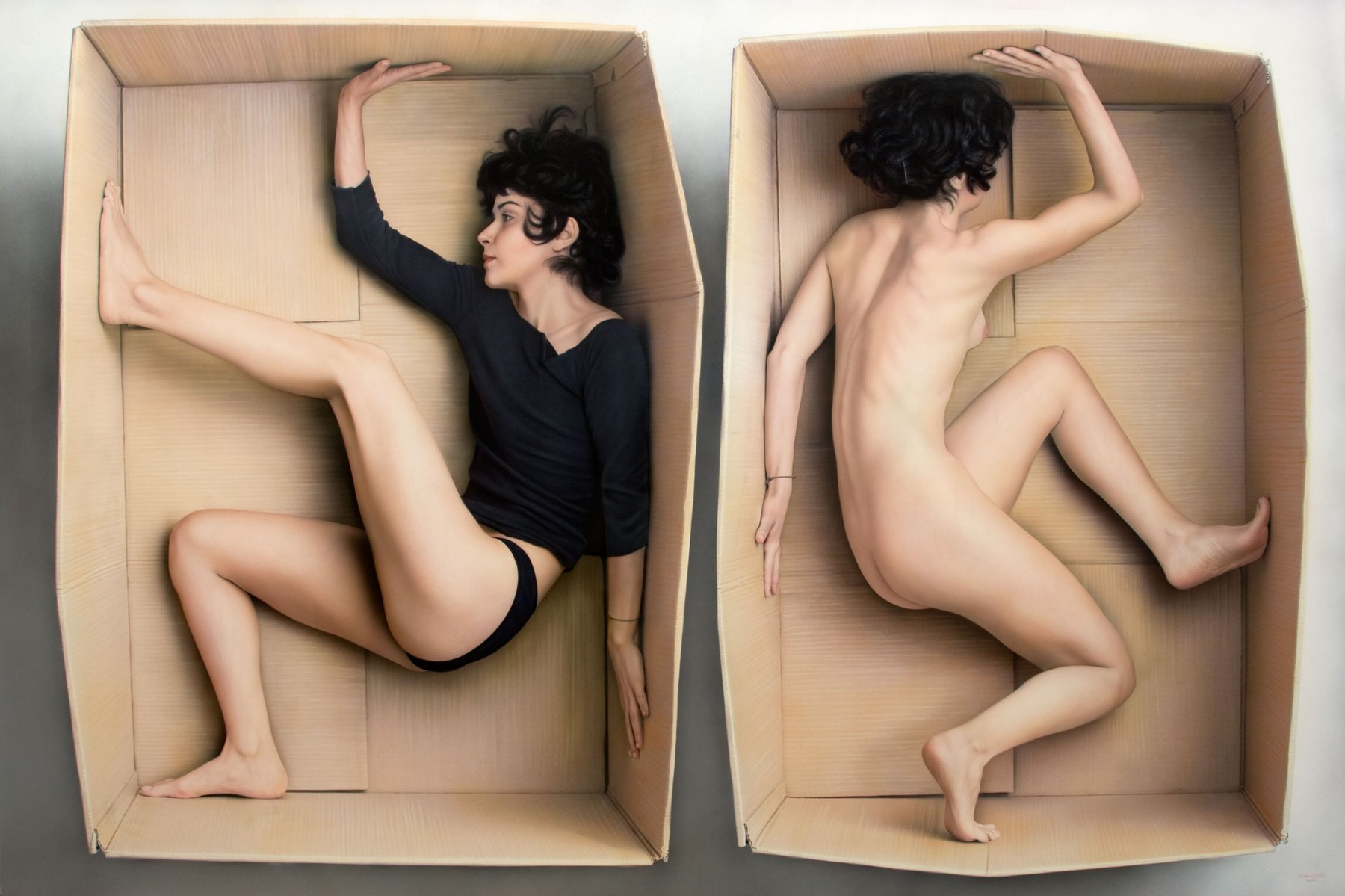 Boxed in - Juan Cossio