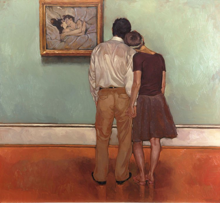 Lovers and Lautrec - Joseph Lorusso