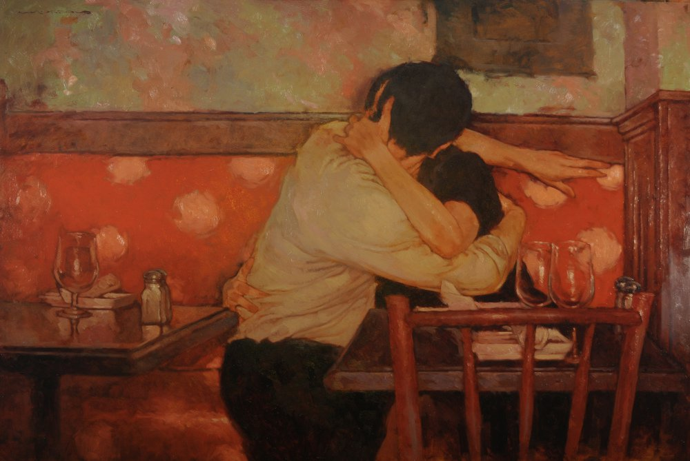 Corner Table - Joseph Lorusso