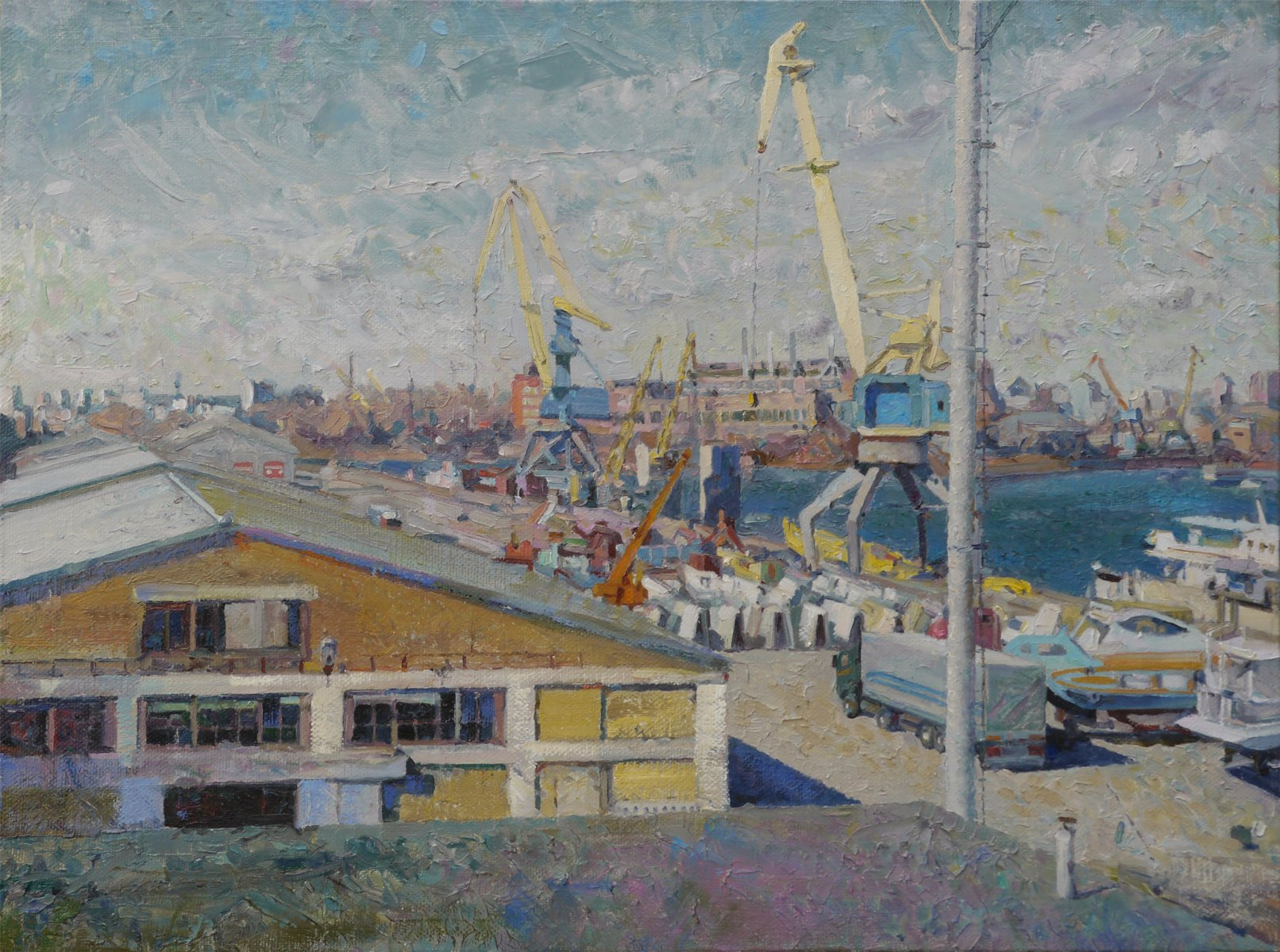 In Port - Victor Onyshchenko