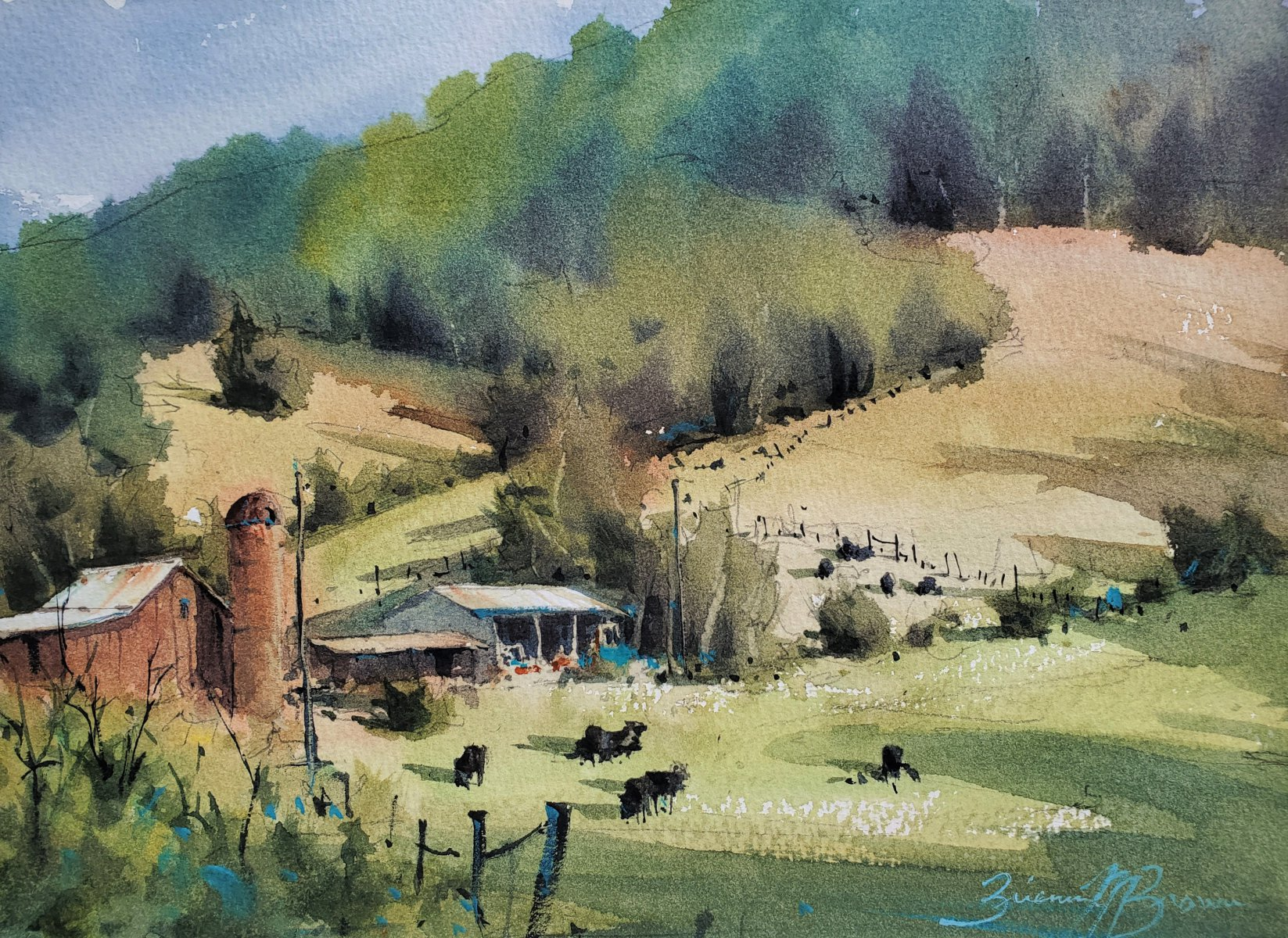Hillside Farm - Brienne M Brown