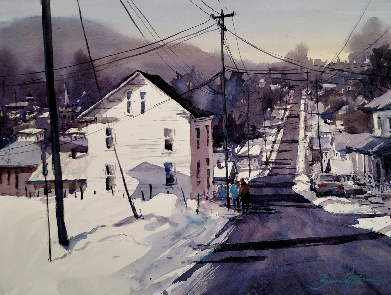 Bellefonte Winter - Brienne M Brown