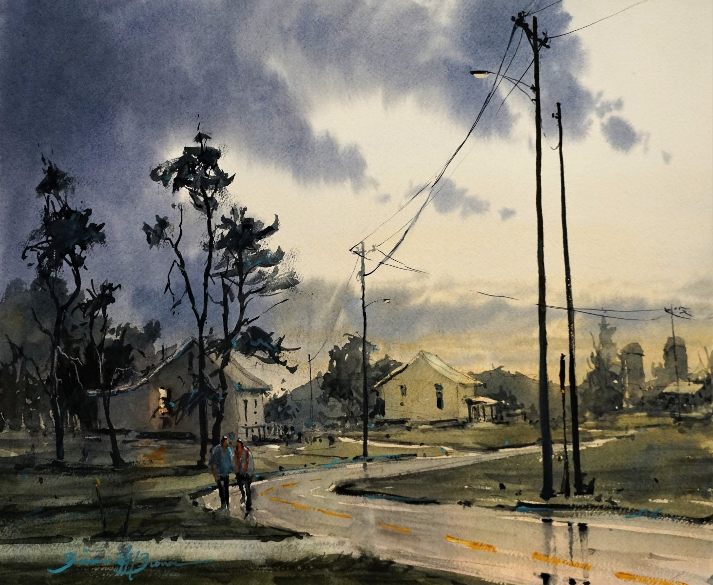 Break From the Storm - Brienne M Brown