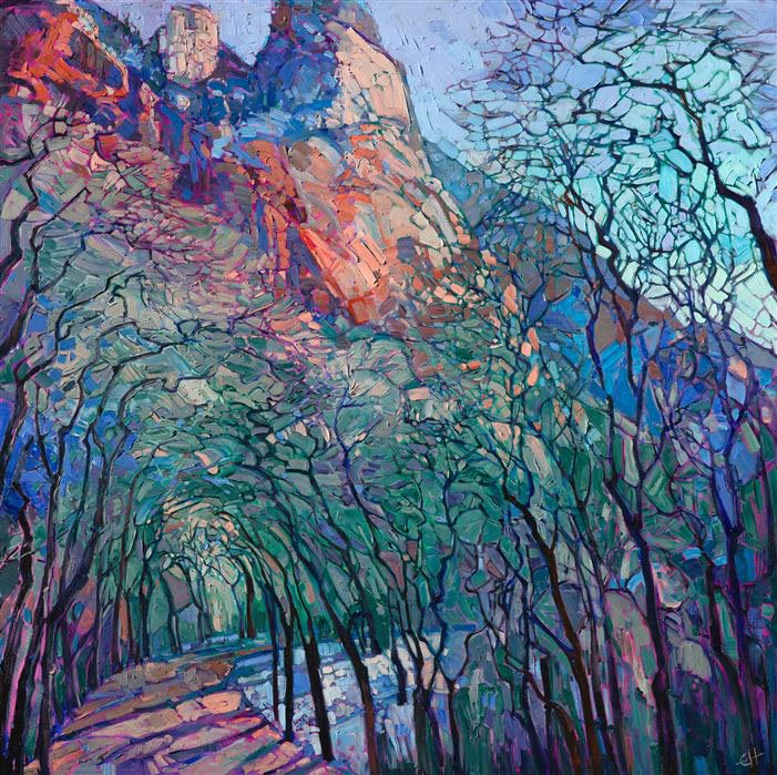 Journey through Zion - Erin Hanson