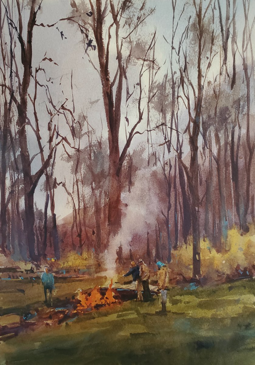 Burning Leaves - Brienne M Brown