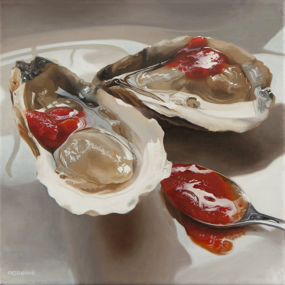 2 Sexy Oysters and a Spoonn - Nadine Robbins