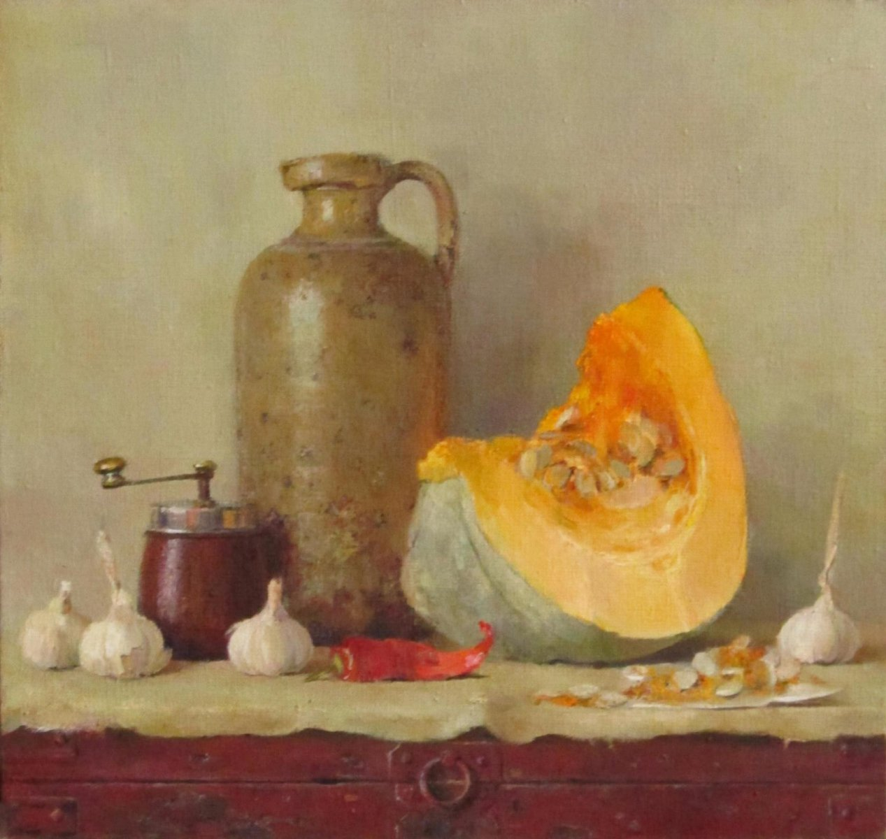 Pumpkin and garlic - Evgenia Trifonova