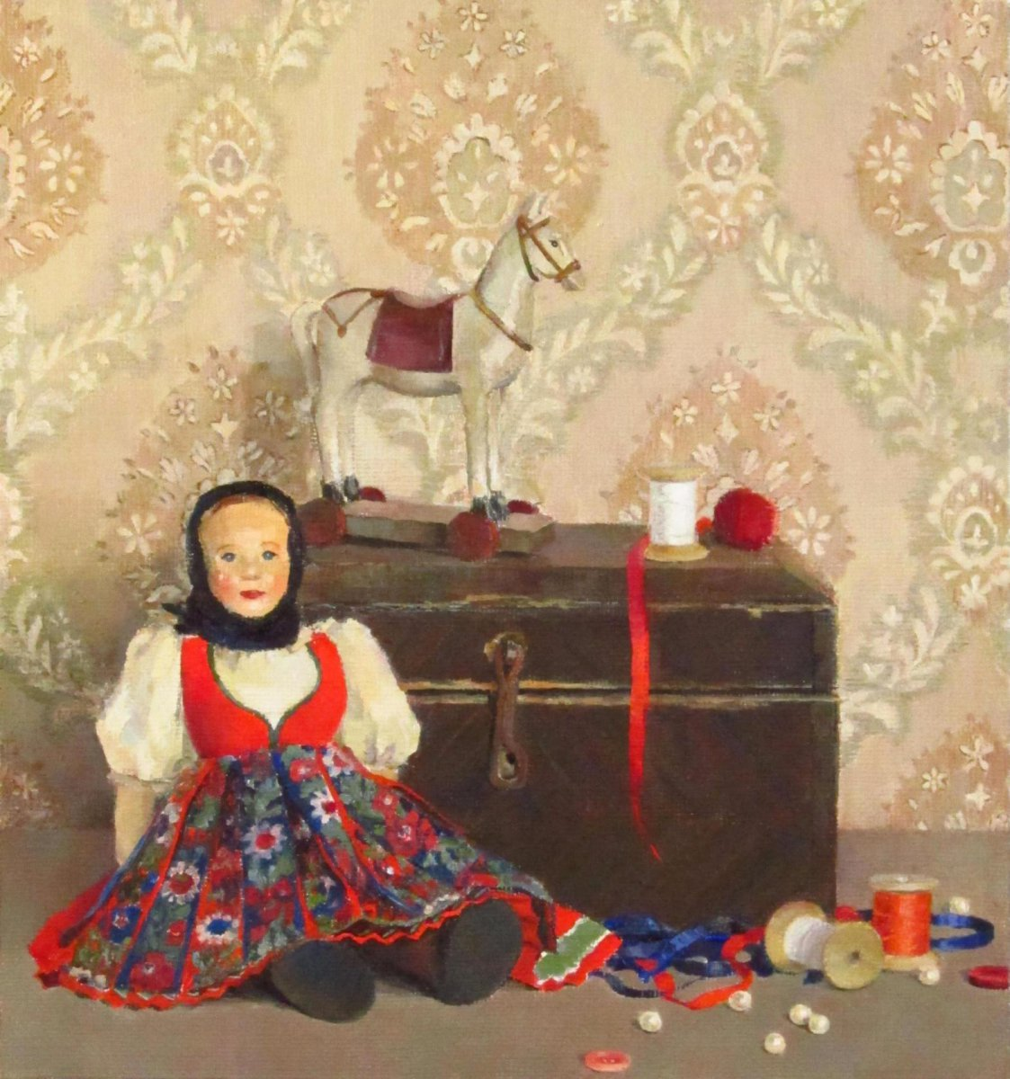 Still life with a doll - Evgenia Trifonova