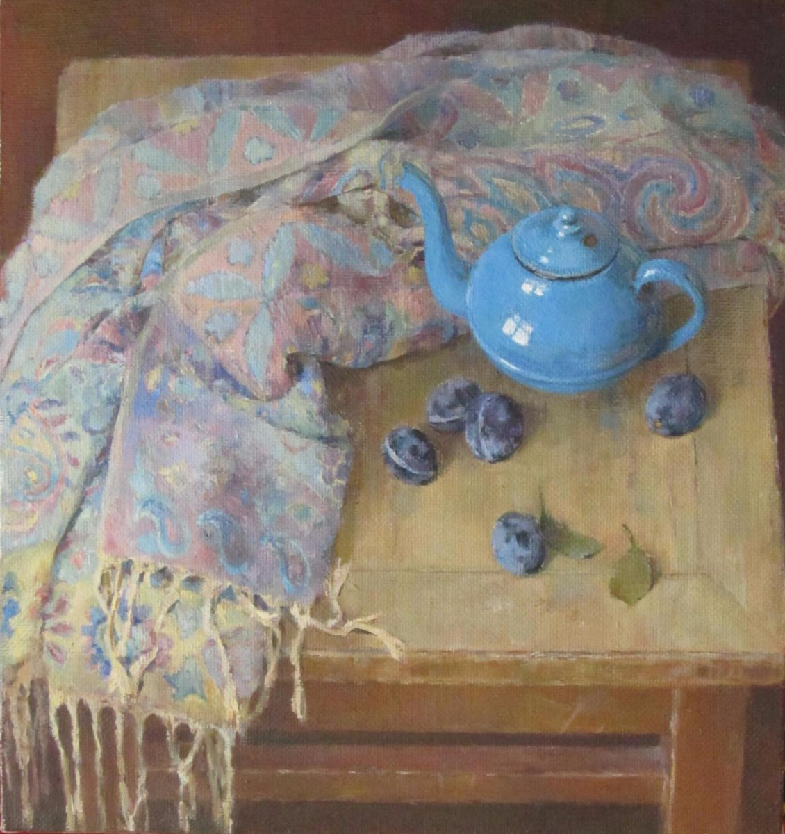 Blue kettle - Evgenia Trifonova