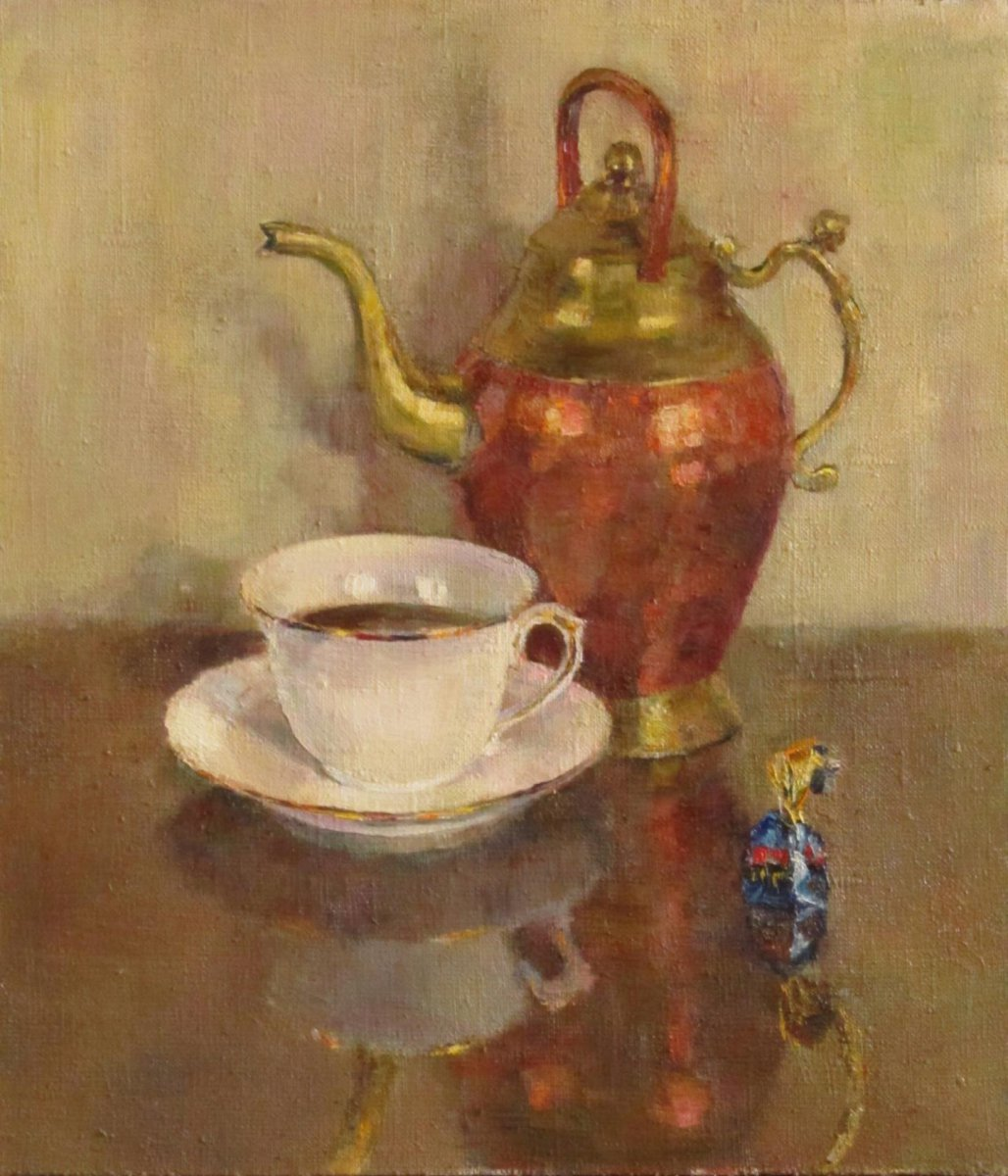 Morning coffee - Evgenia Trifonova