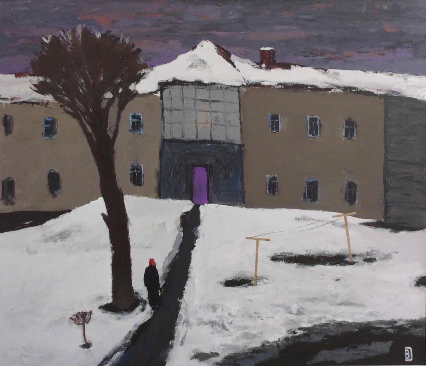 My childhood yard - Vladimir Daibov