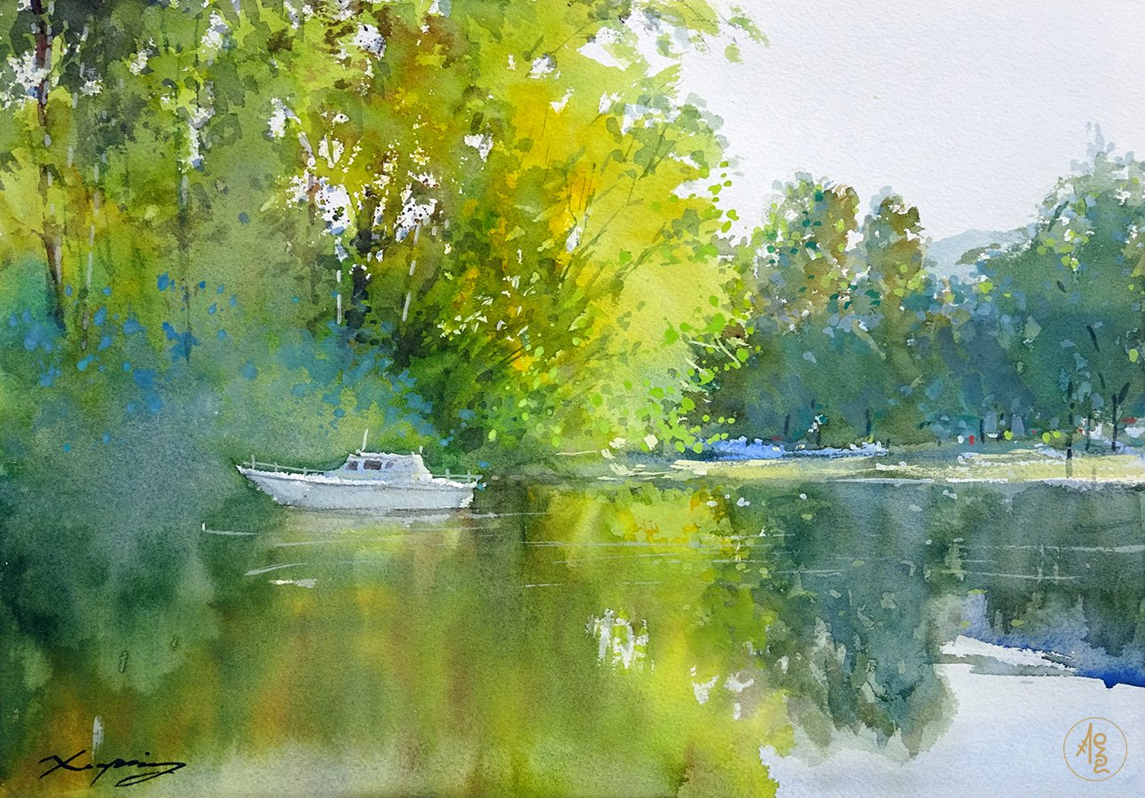 Water side - Zhang Xueping
