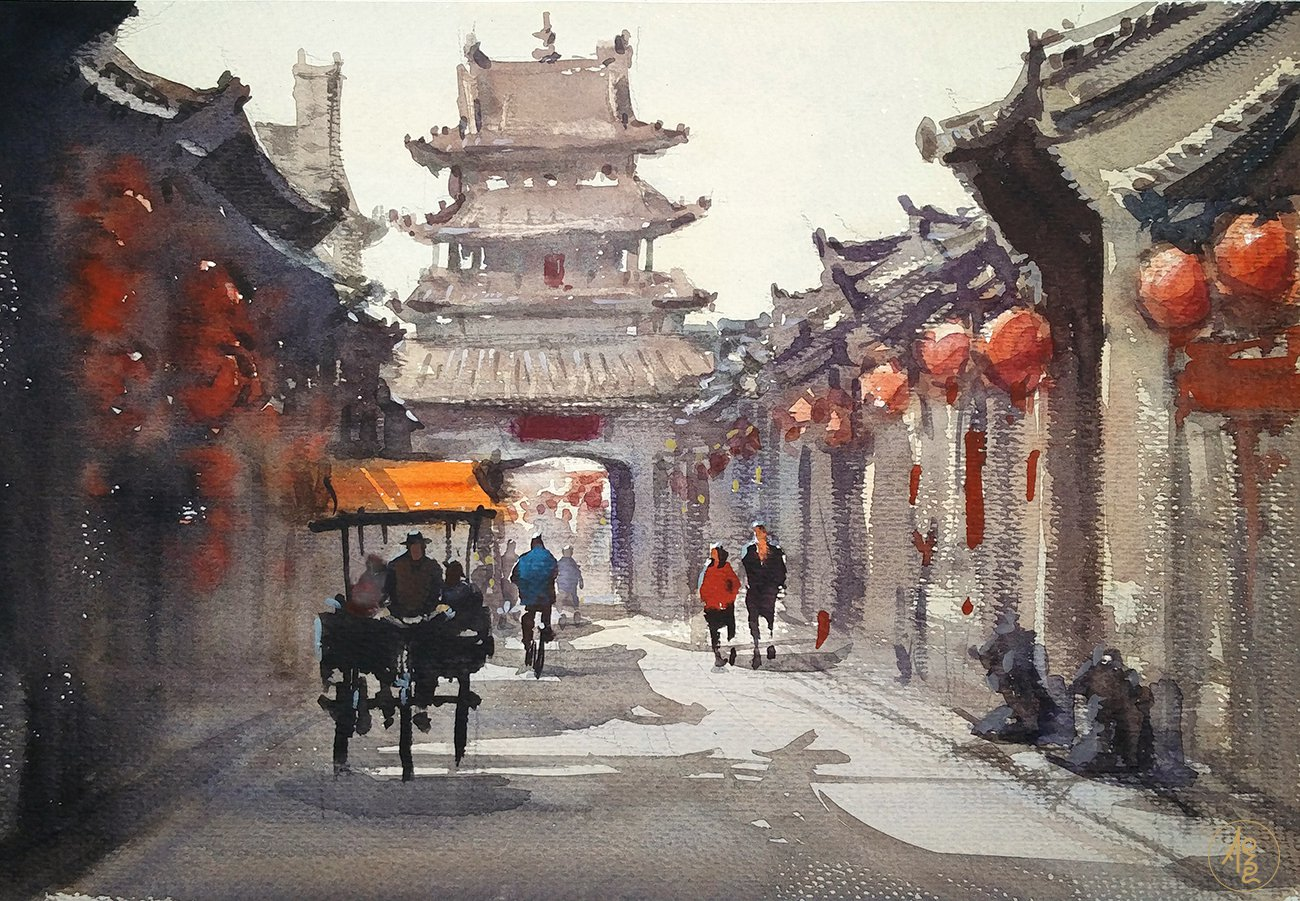 Ancient city - Zhang Xueping