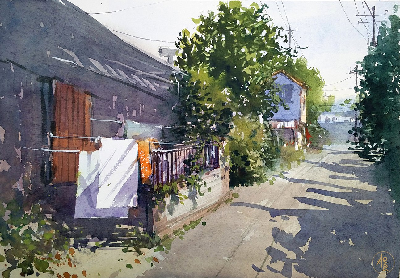 Japanese Alley 2 - Zhang Xueping