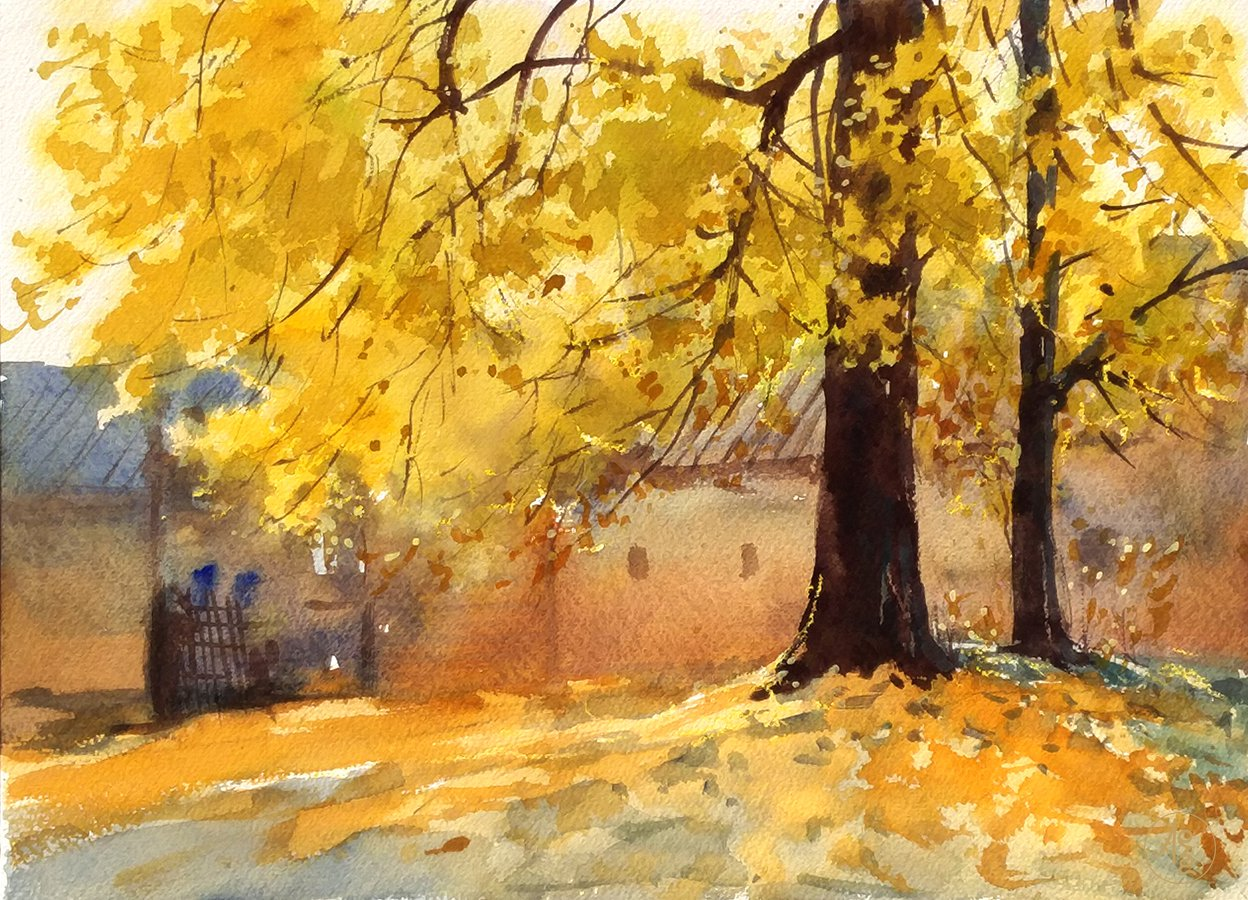 Golden fall - Zhang Xueping