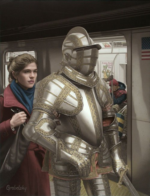 Knight & The Lady - Matthew Grabelsky