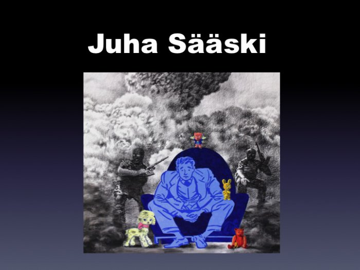 Juha Sääski - Juha Sääski, Works on paper and oil paintings